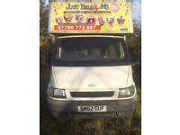 FORD TRANSIT LUTON BOX VAN WITH TAIL LIFT