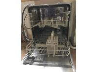 Zanussi built in dish washer