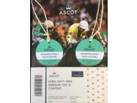 Ascot race day plus Rita Ora concert x 2 and hotel stay on Sat 11th August