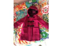 Lovely GAP duffle coat Size 4 years
