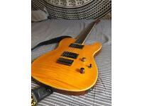 Fender FMT Telecaster Custom Amber Electric Guitar