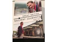 Great British railway journeys box set seasons 1/2