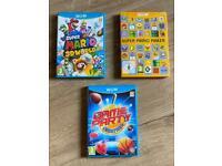 Wii U Games x3