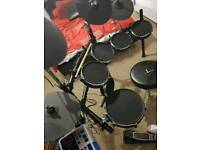 Alesis DM10 studio mesh electronic drum kit with amp