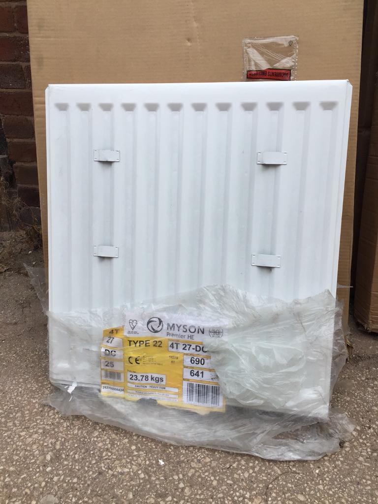 Myson 690 x 641 type 22 double panel double convector radiator | in ...