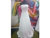 Stunning wedding dresses for sale sizes vary from 8-22 were at wharton street south shields