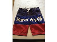 Superdry swim/board shorts. Size Medium. Barely used. £10
