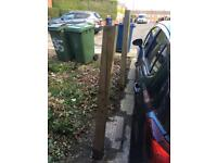 Two fence posts - free