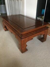 Teak Ming style coffee table