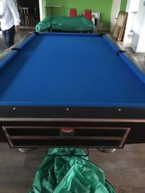 AMF play master pool, sams billiards, BCE table sports, pool table for sale (like new)
