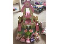 Le Toy Van Fairy Castle and carriage