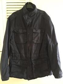 Mens Navy Military Jacket- John Lewis