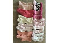 Baby girl 0-6 socks