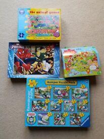 Jigsaw set, inc. Thomas and Spider-man