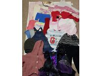 Used - 1 1/2 - 2 Year Old Girls Bundle Of Clothes