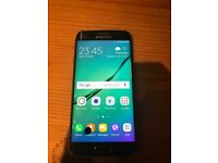 Samsung s6 edge,immaculate condition other than black mark on the screen(don't know what it is)