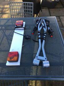 Thule 970 Xpress 2-Bike Towball Rack Carrier & Lightboard