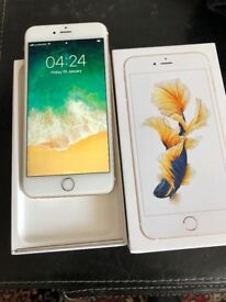 IPhone 6s Plus 128gb Unlocked Gold nice phones with receipt