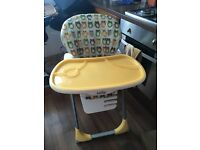 Joie Owl High Chair Good Condition