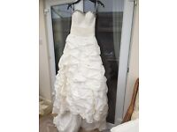Designer Psyche crystal embellished wedding dress