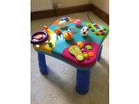 Interactive activity table