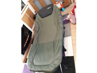 Fishing bedchair extra wide mint con
