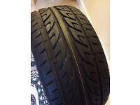 205/40/R17 Arrowspeed Tyre, 1 week old