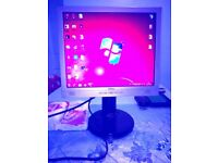 HDMI Belnea 17 inch; TFT Monitor with inbuilt speakers and cables