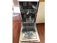 HOTPOINT SLIM LINE DISHWASHER - EXCELLENT CONDITION - JUST A FEW MONTHS OLD