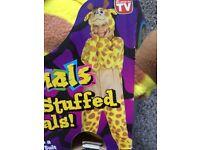 Giraffe fancy dress dressing up costume world book day size medium BRAND NEW