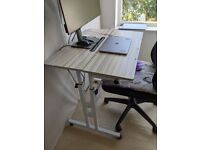 Height-Adjustable Office Desk