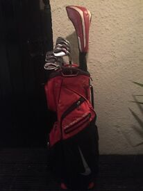 Nike covert 2.0 irons and Driver + Nike cart bag