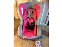 Disney Minnie Mouse Car Seat with instructions