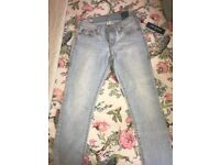 100% Authentic Brand New Womens True Religion Jeans Size 27