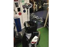 Left handed brand new in wrapper golf clubs (L@@K)