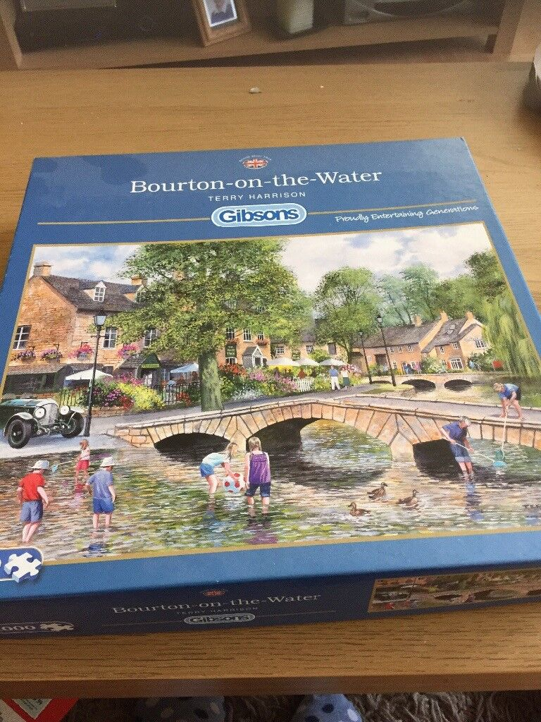 Bourbon-on-the-water jigsaw puzzle