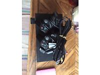 PSP 2 console with 2 controllers, all connection leads and 22 games in excellent condition