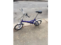 Selling an explorer folding bike in pristine condition
