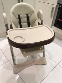 Velu Baby Child Highchair Feeding Chair Compact High Chair