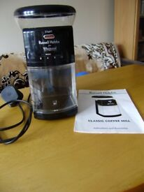 Grinder, Coffee grinder by Russell Hobbs, as new