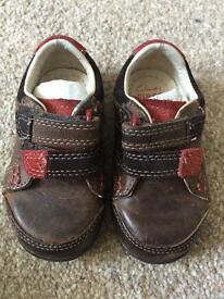 Clarks Boys First Shoes size 3.5 F