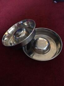 Slow feeder or weaning bowls