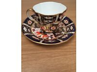 Royal Crown Derby 2451 cup and saucer
