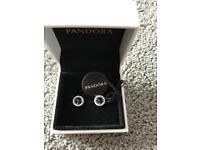 Brand new pandora ear rings