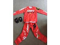 3 motorcross kits mx crf sxf yzf rmz kxf