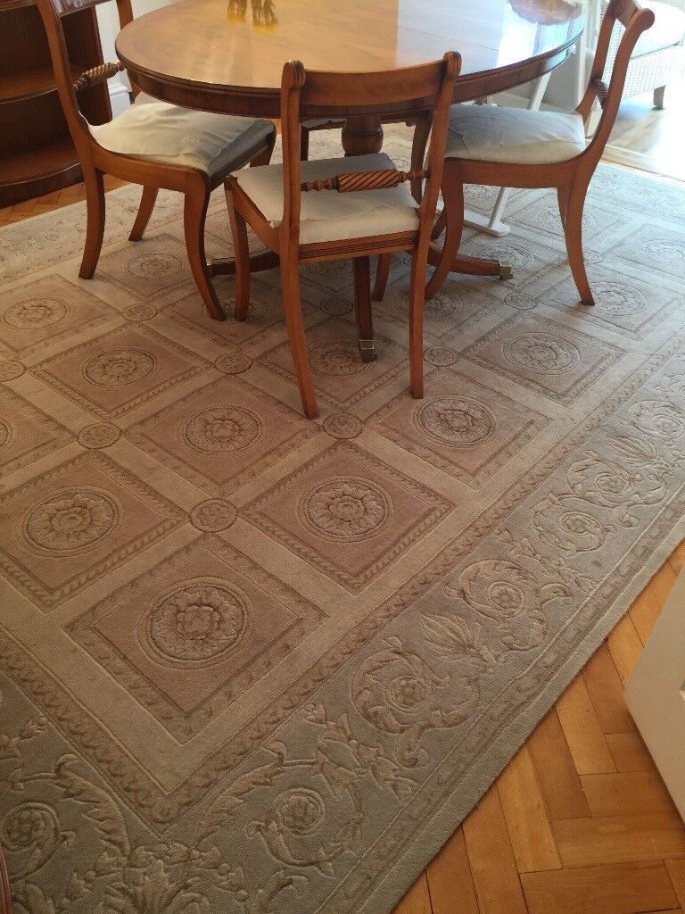 Very Large Rug Natural Colours Excellent Condition