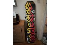 Rome SDS Snowboard 148cm with Union Bindings