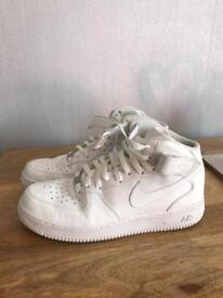 Nike Air Force 1 White Uk10