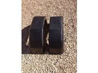 trailer mudguards 13 inch one pair new and unused