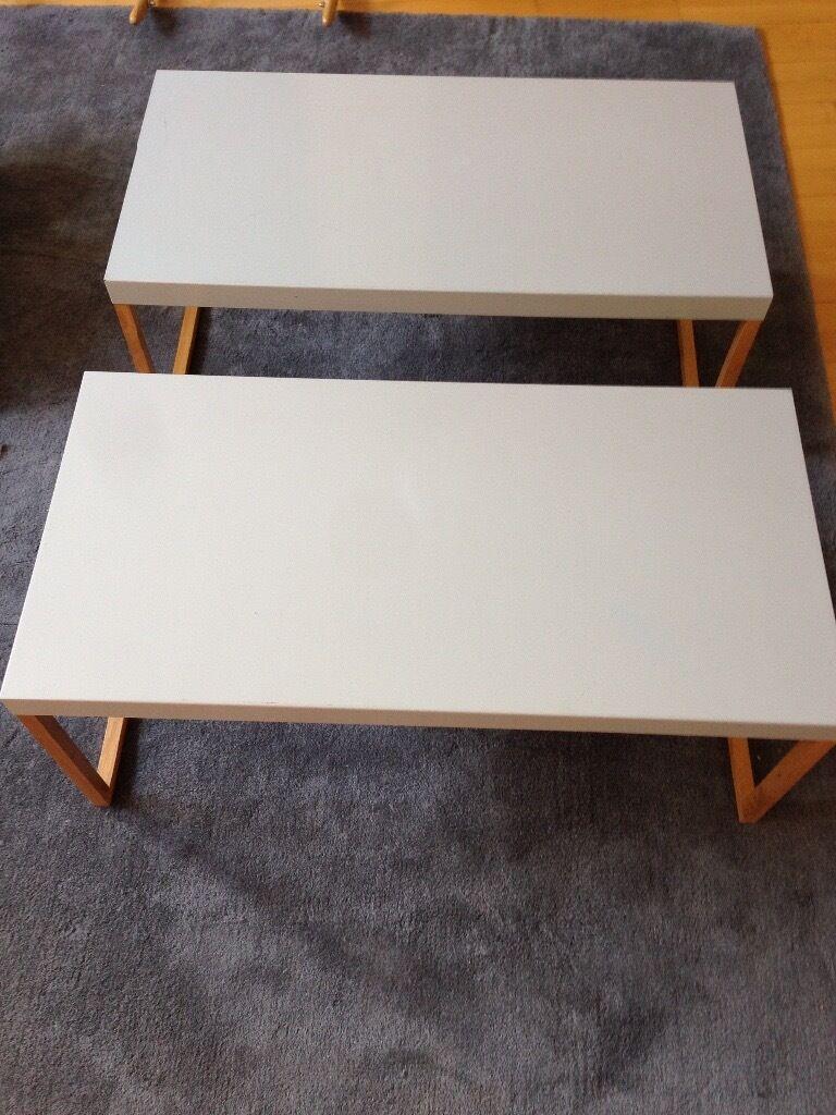 habitat grey coffee tables | in clapham, london | gumtree